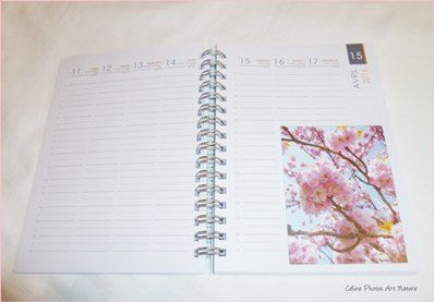 Agenda de poche 2016 de Céline Photos Art Nature