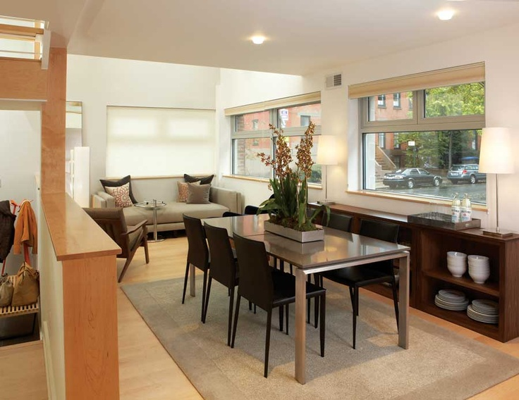 Brooklyn Home—upscale Modern Dining Room With A Custom Room And