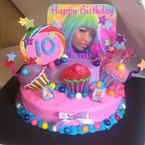 Tremendous Nicki Minaj Cake I Made For A Friend With Images Friends Cake Personalised Birthday Cards Paralily Jamesorg