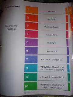My professional portfolio nursing portfolio pinterest for Professional teaching portfolio template