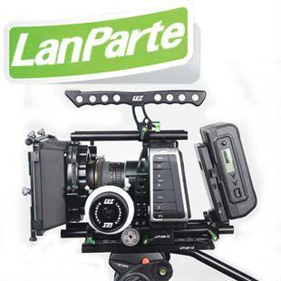 Lanparte BMCC dslr rig shoulder mount kit with Black Magic Cinema Camera
