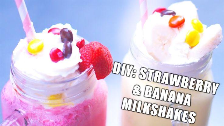 how to make a quick milkshake