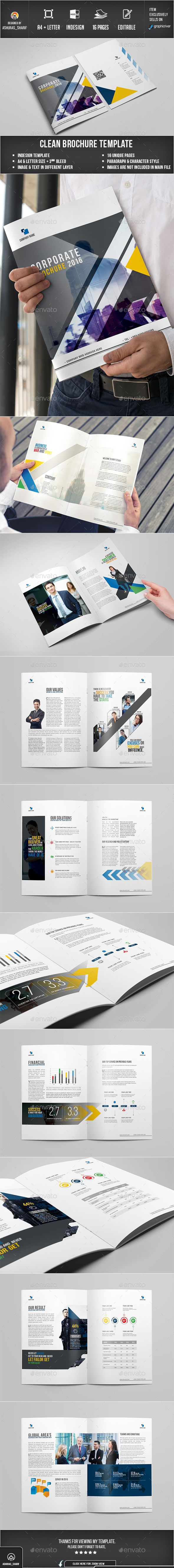 Business Brochure Template InDesign INDD #design Download: http://graphicriver.net/item/corporate-brochure-12/13789496?ref=ksioks