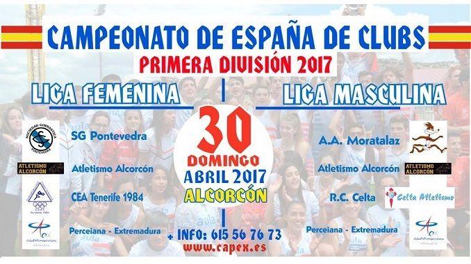 Presentación de la jornada de primera división masculina y femenina del Campeonato de España de Clubs para el miércoles 26 de abril a las 18:30 horas en el Bar Europa (Plaza de Europa s/n).
