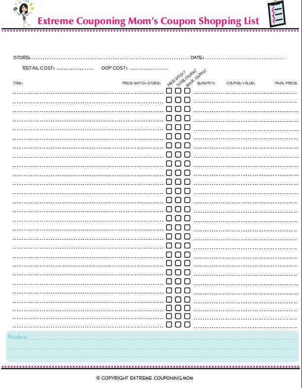 Meer dan 1000 ideeën over Coupon Spreadsheet op Pinterest - coupon sheet template