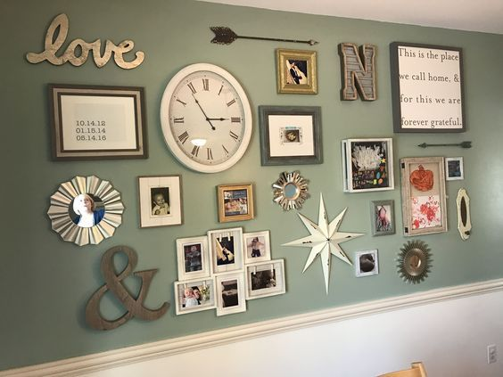 25 Creative Gallery Wall Ideas and Photos for 2017