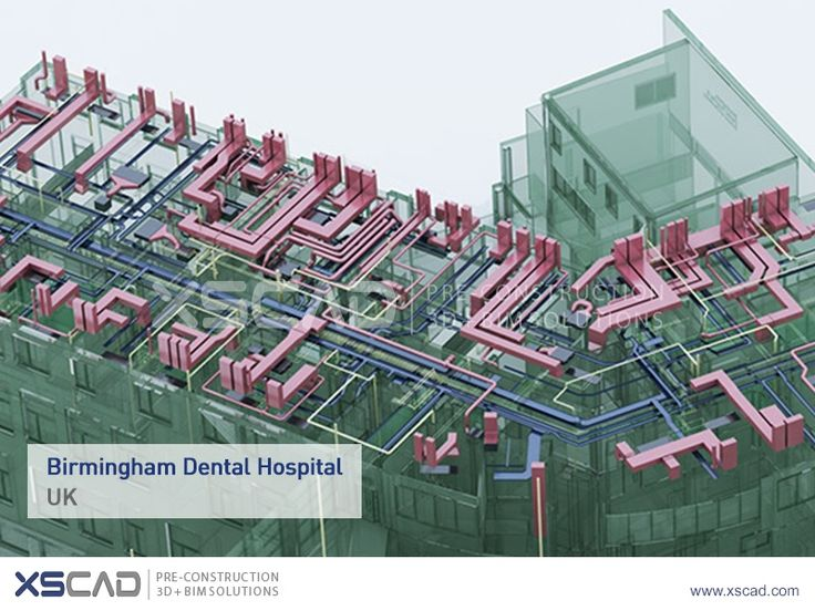 Project News - Birmingham Dental Hospital  The Birmingham dental hospital provides emergency dental care, restorative dentistry and oral surgery to its patients. XS CAD provided 2D coordination drawings taken from coordinated 3D MEP models. All the models and drawings were tested using rigorous manual reviews and Navisworks software.  #MEP #BIM #Revit #CAD #AutoCAD #Navisworks