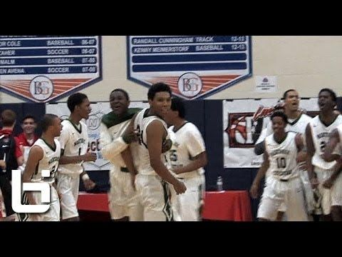 Raymond Doby Catches Game Winning Oop To Beat Findlay Prep!