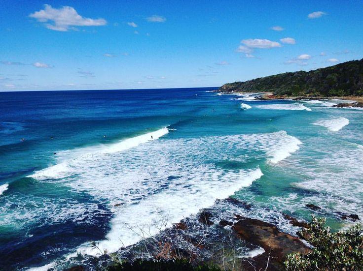 Coolum Beach, Queensland - Surfs up!