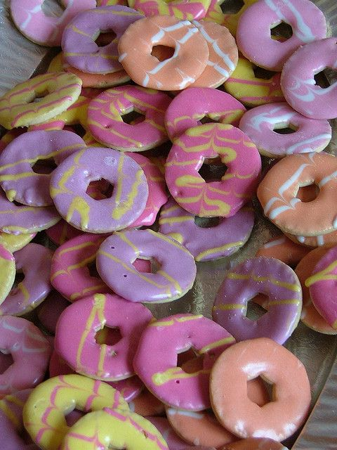 Party Rings Per biscuit = 1 1/2 sins