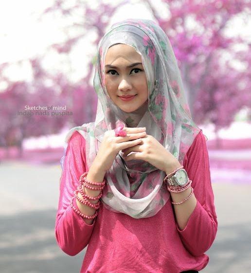 Chiffon rose bud veil