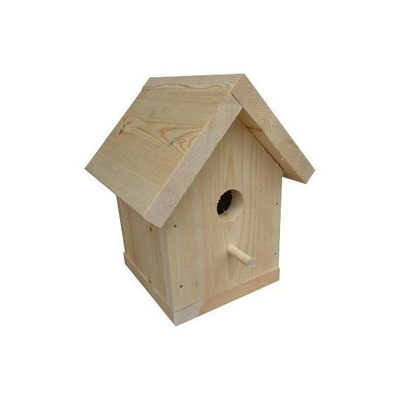 Large Traditional Bird House Kit by CraftKitsAndSupplies on Etsy, $9.99