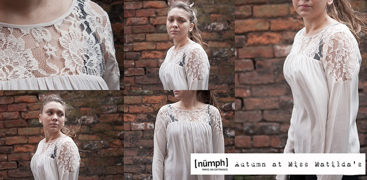 Dainty lace adorned top from our Numph AW12 in our pretty online boutique. Miss Matilda's is an online ladies fashion retailer in the UK.
