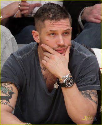 Tom Hardy...still can't believe he plays Bane...