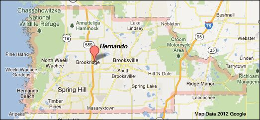 Hernando County Florida Map Cause You Have To Know Where You Are