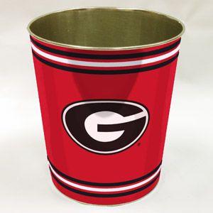 NCAA Georgia Bulldogs Wastebasket