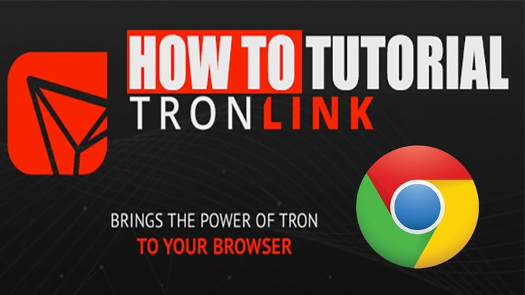 How To Setup Tronlink Chrome Extension | Tronlink | Crypto ...