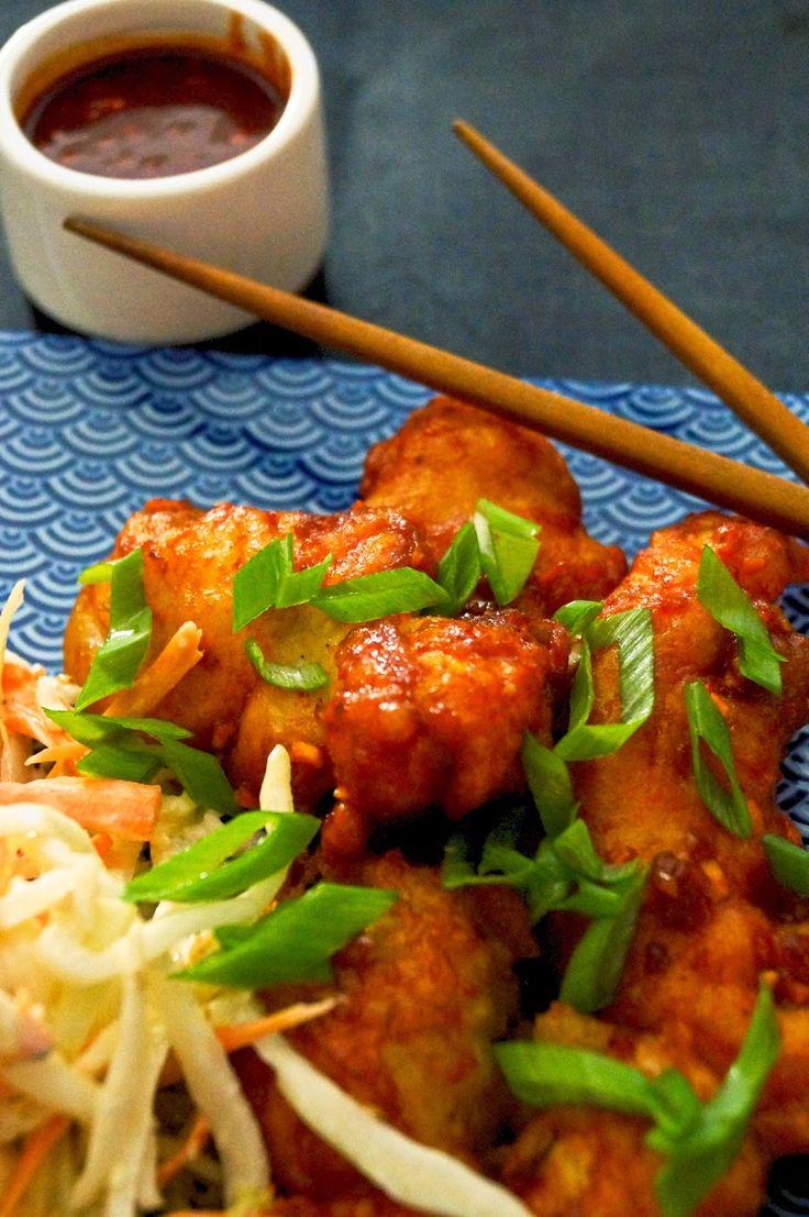 Mama Gastro: Korealainen friteerattu kana ja seesami-coleslaw