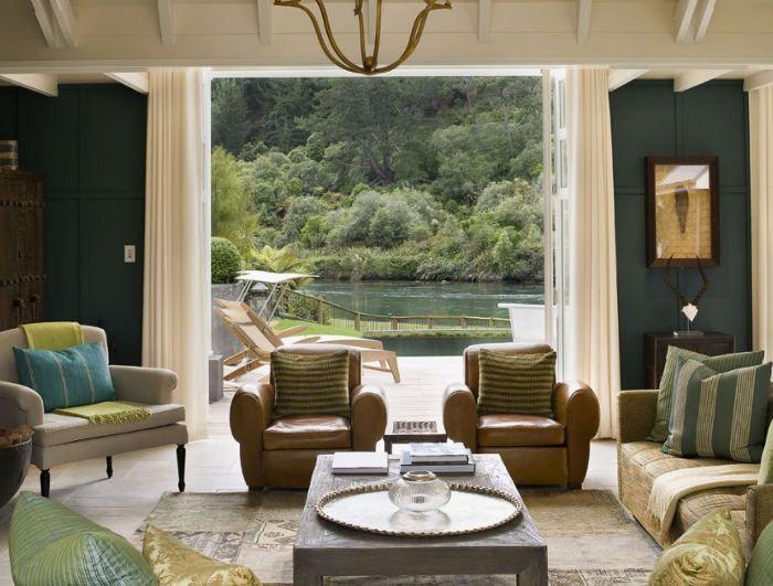 Alan Pye Cottage Part Huka Lodge At Falls Taupo New Zealand
