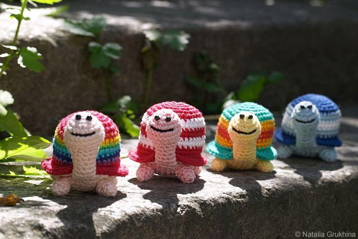 http://grukhina.ru/iblock/schema/igrushki/?p=3: Ideas, Croche Turtles, Crochet Toys, Amigurumis, Crochet Animals Turtles, Crochet Amigurumi, Crochet Patterns, Free Patterns, Вязаные Черепашки
