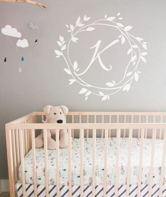 Best  Monogram Wall Decals Ideas On Pinterest Owl Nursey - Monogram wall decals for nursery