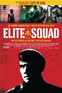 Elite Squad (José Padhila, 2007), a semi-fictional Brazilian film about the brutality, corruption and incompetence of the military police that became a cultural phenomenon. Find this at 791.43781 ELI