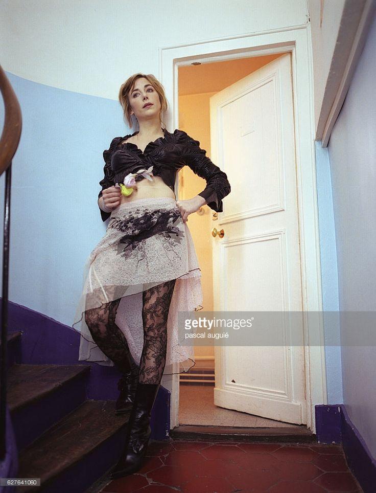 Photo d'actualité : French actress Julie Depardieu.