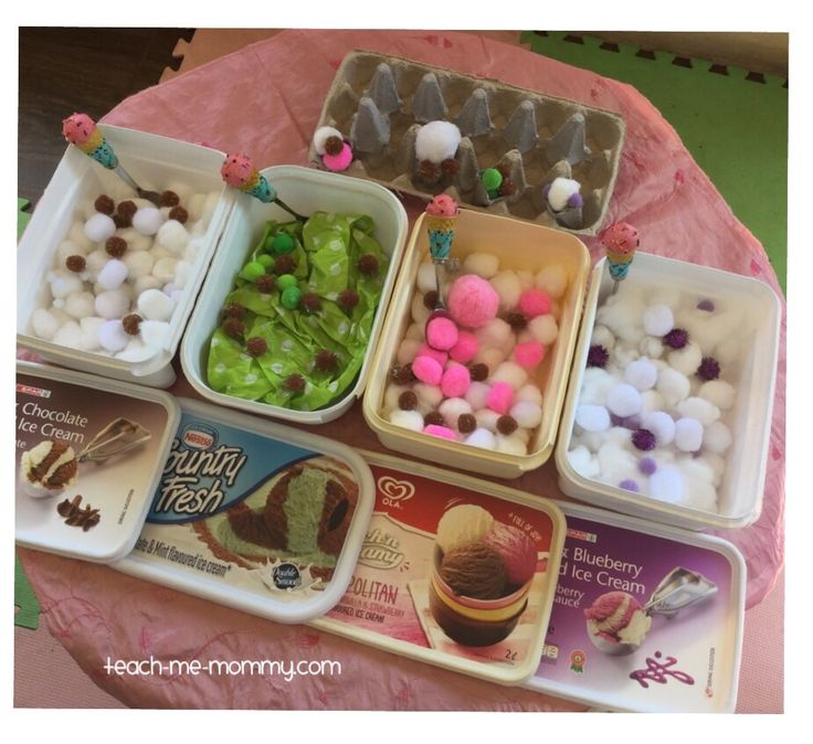 Ice Cream Shop Pretend Play