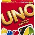 Uno Card Game- Get rid of all the cards in your hand, and don't forget to yell 'Uno!' when you're on your last