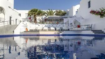 HOTEL RK BEACH HOTEL / Grécko, Santorini, Kamari