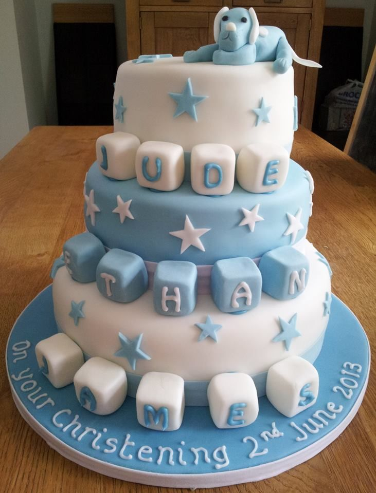 Beautiful boys cake by Good Little Party Food