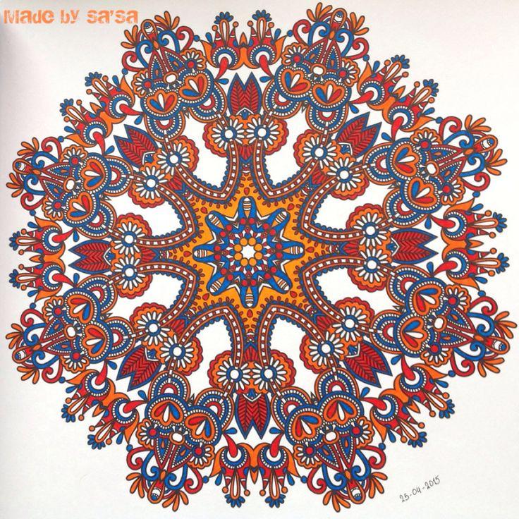 Het Enige Echte Mandala Kleurboek (deel 1) - Mandala nr. 16