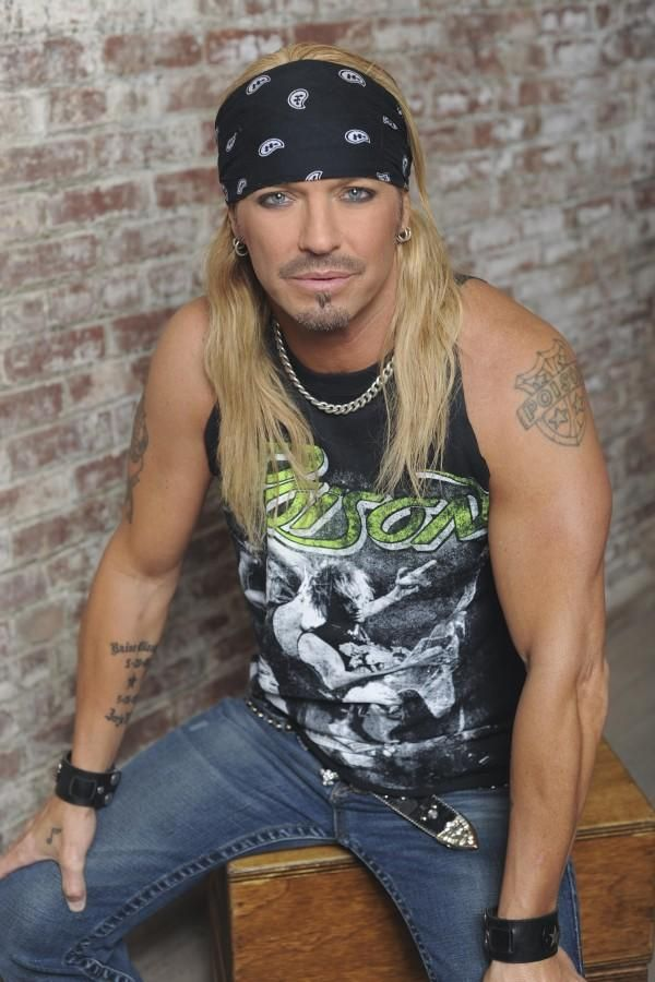 Bret Michaels yes I love him! Met him once---my mom threw away my autograph!!!!