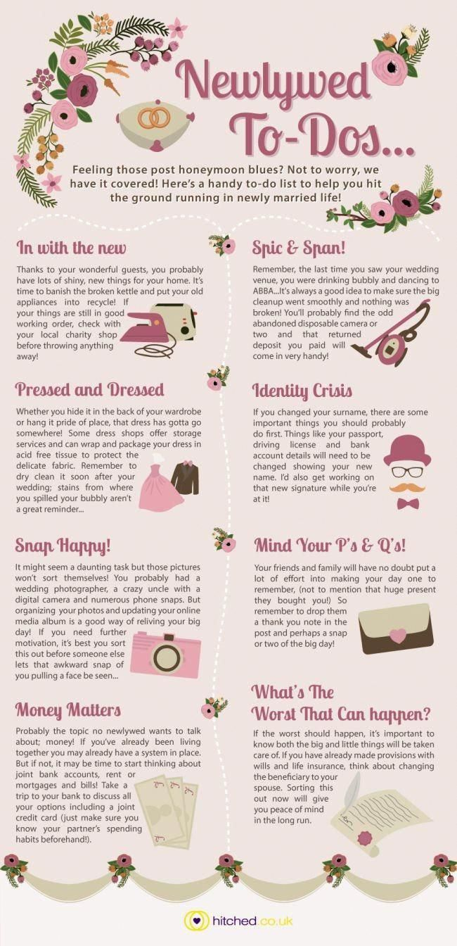tips tricks a newly wed to do list mwbridalstyle bhldnbride