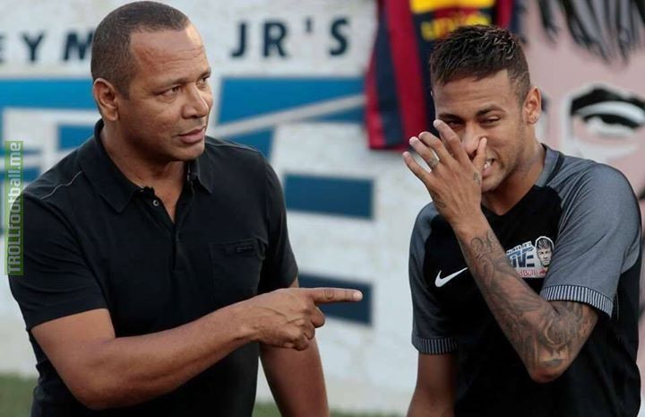 Neymar Senior this week: 💸 £23m loyalty bonus from Barca 💸 £35m from the PSG move £58m made in one week 😳💰