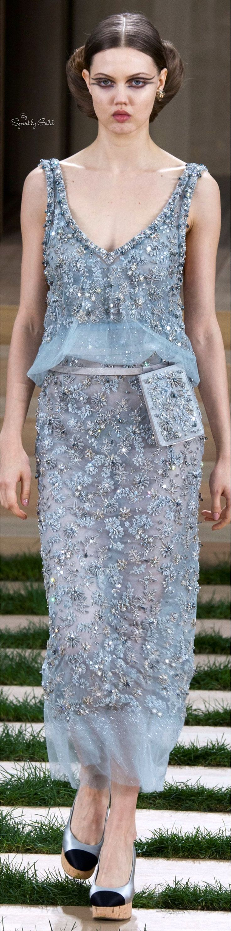 Chanel spring 2016 couture coco chanel paris for Couture garments