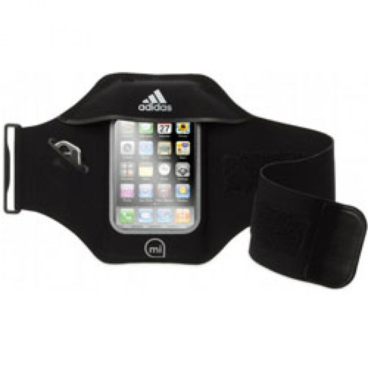 Griffin GB04202 Adidas miCoach Sport Armband for iPhone 4/4S . Keep fit stay motivated . sweat-proof touch-through screen cover protects your touchscreen.