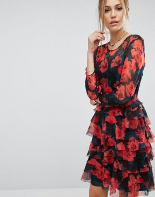 French Connection Allegro Poppy Dress at asos.com | @giftryapp