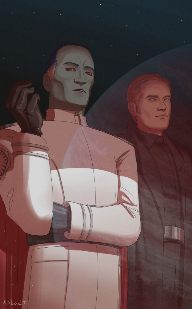 """""""Sometimes a commander's decisions must be made without regard for how they will be perceived. What matters is that the commander does what is necessary for victory.""""    Another installment in the Grand Admiral Thrawn of the First Order AU series. #starwars #chiss"""