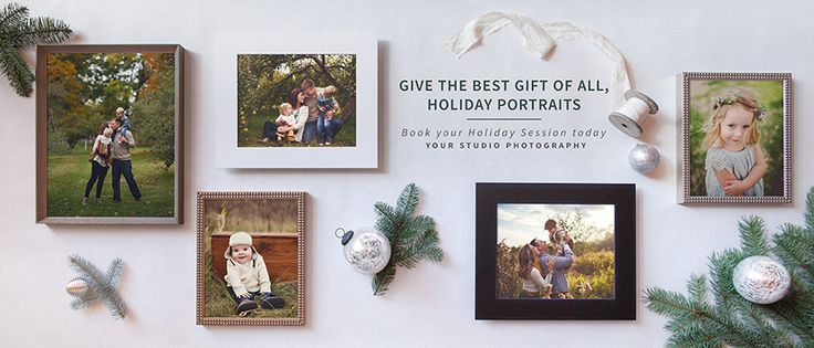 Holiday Sessions Promo Templates for Pro Photographers | Design Aglow