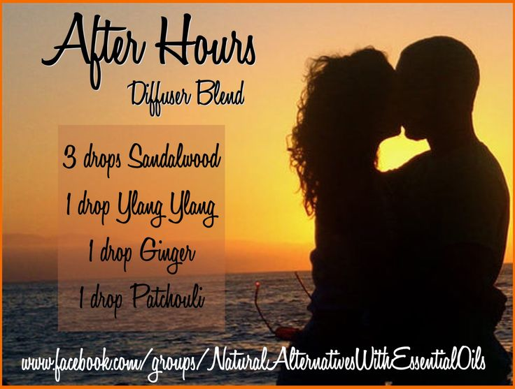 Essential Oil Diffuser Blend After Hours - Aphrodisiac, Romance doTERRA