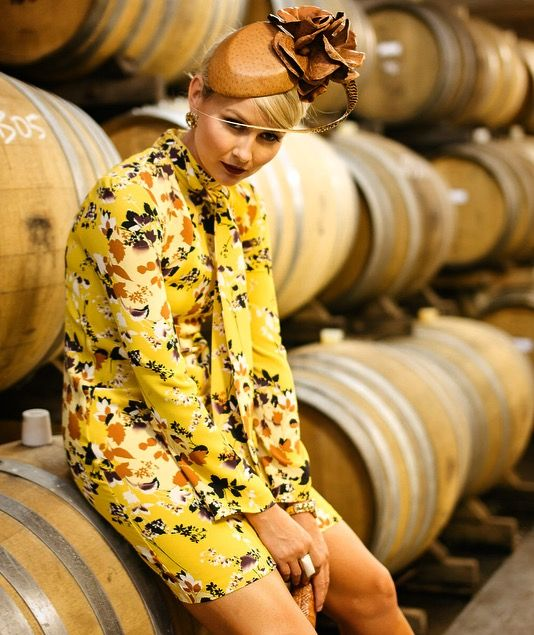 Autumn racewear inspiration from Cue and Jill & Jack Millinery.  Styled by Bree Laughlin.