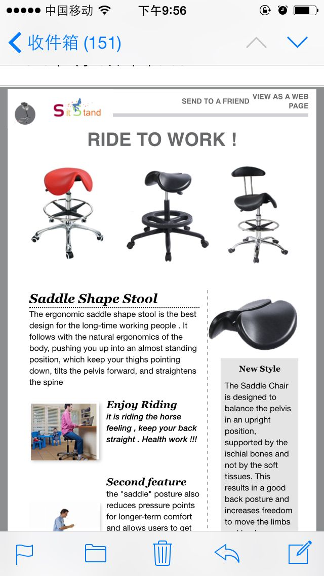Ergonomics saddle stool. Work ChairSaddlesStools  sc 1 st  Pinterest & 43 best Ergonomic Sit Stand Work Chair images on Pinterest   Work ... islam-shia.org