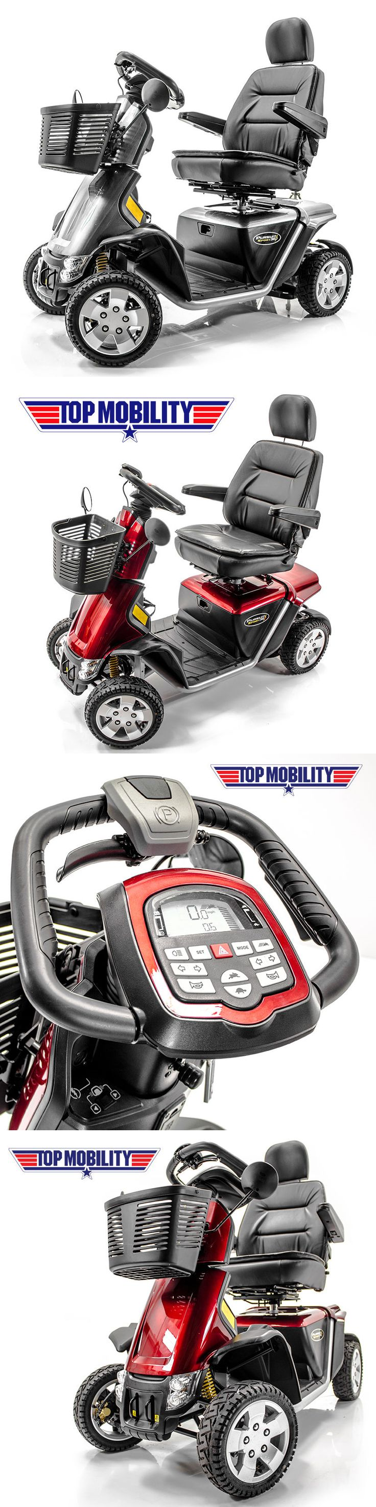 The exciting brand new street legal cruser sport elec car amp golf cart - Mobility Scooters Pride Mobility Pursuit Sport 36v Heavy Duty Electric Scooter Mv714 Silver New