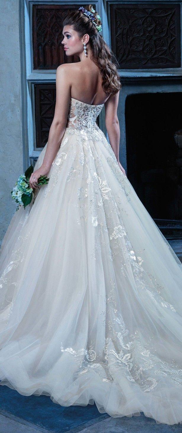 1513 best vestidos de novia images on Pinterest   Wedding frocks ...
