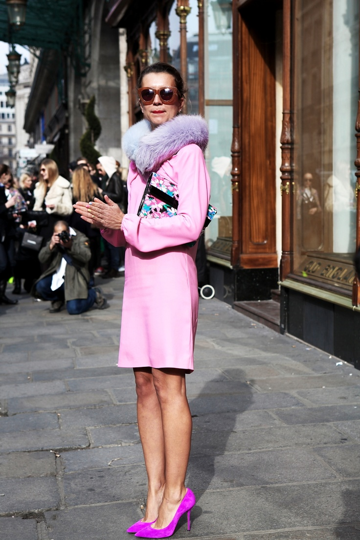 THEFASHIONALISTS: They call me Pink Lady.