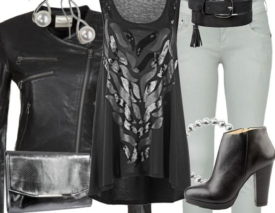 Party Outfit ♥ Hier kaufen: http://www.stylefruits.de/partyoutfit-ich-will-spass-ich-will-spass/o2809762