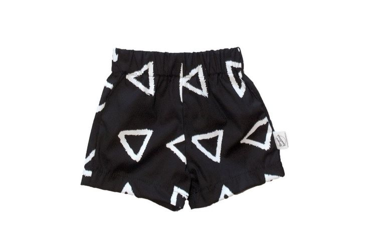 Acute Triangle Monochrome Walk Shorts