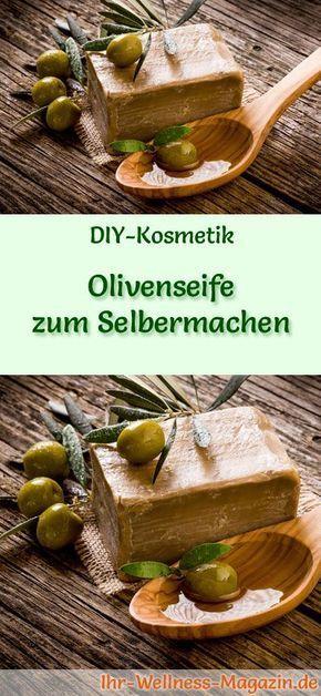 olivenseife zum selbermachen seifen rezept anleitung korken schneeflocke pinterest. Black Bedroom Furniture Sets. Home Design Ideas