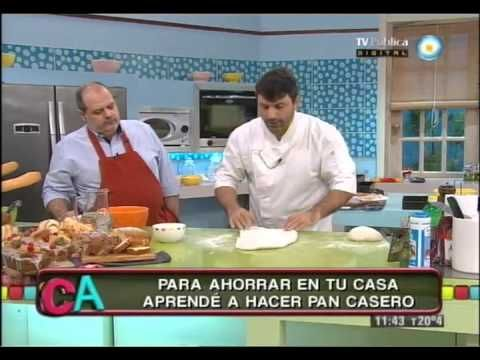 VIDEO PARA HACER PAN CASERO,,PAN FRANCES
